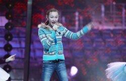 Юлія Гурська злетіла над сценою Мінськ-Арени