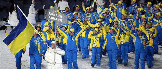 Украину на Олимпиаде в Сочи будет представлять 43 спортсмена