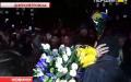 """У Дніпропетровську минулої ночі вітали """"кіборгів"""""""